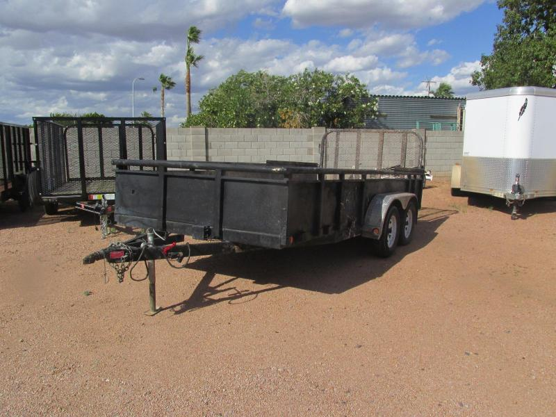 Reduced Price!!!! Used 2015 PJ Trailers 16 x 77 Utility Trailer