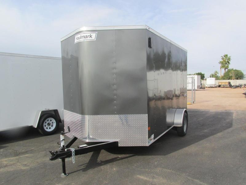 2017 Haulmark 7'X12' Enclosed Cargo Trailer