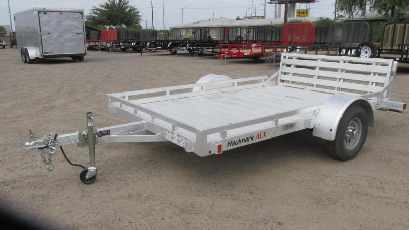 2017 Haulmark Aluminum Equipment Trailer