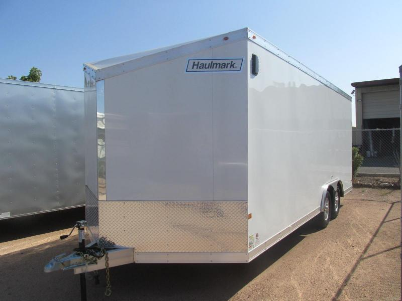 Haulmark HAUV 8.5X20 Enclosed Cargo Trailer 2x5200 Axles