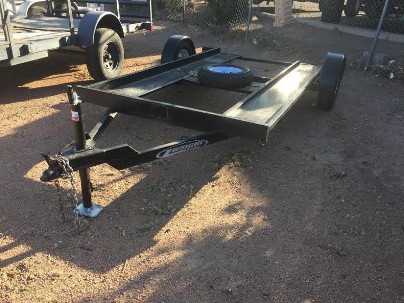 Used 2013 Zieman Motorcycle/ Golfcart Trailer