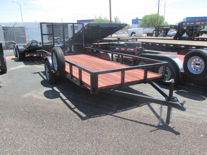 Old Stock Sale! New 2016 Gravely Single Axle Utility Trailer