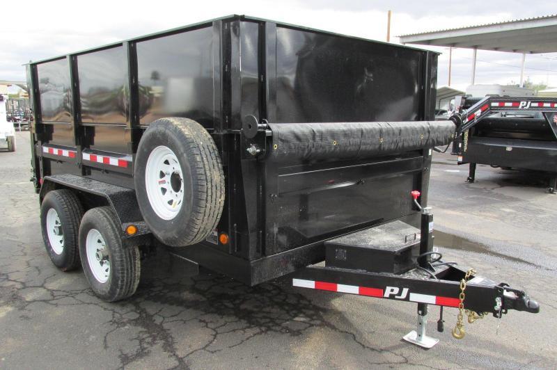 Dump Trailer Flatbed Dump Utility And Cargo Trailers