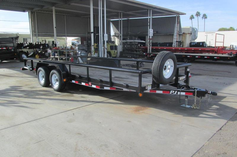 Price Reduced!!!! 2017 PJ Trailers 20' x 83