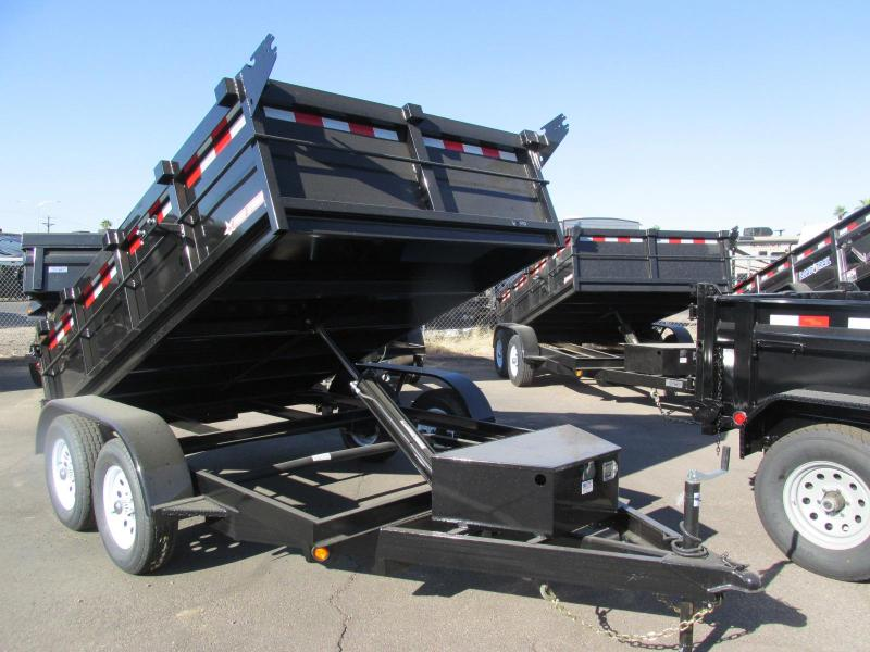 2017 Five Star 6.5X10 Dump Trailer