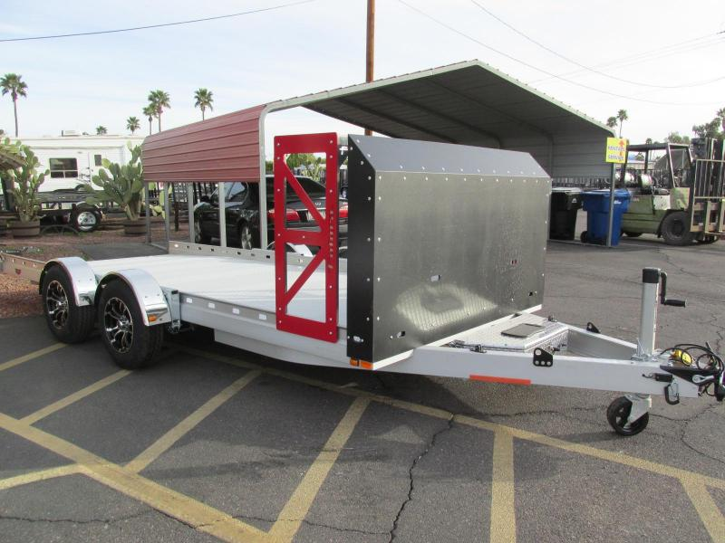 2018 Futura Trailers 16ft Drop Deck Car / Racing Trailer