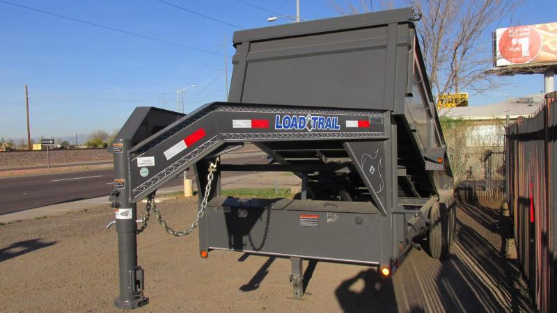 2017 Load Trail 14 X 83 Low Pro Dump Trailer LTD080