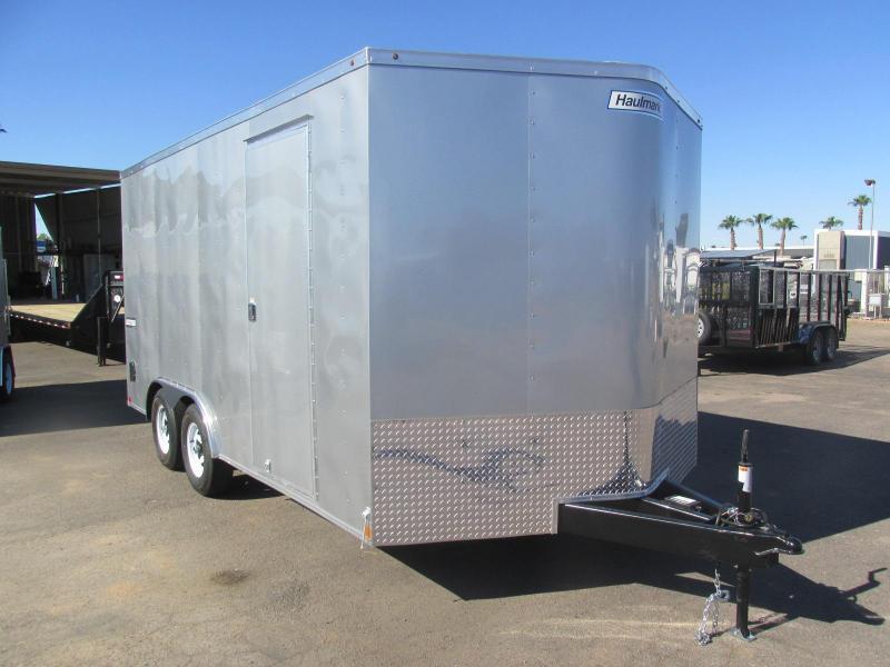 8.5x16 Haulmark Passport Enclosed Cargo Trailer HARD TO FIND!