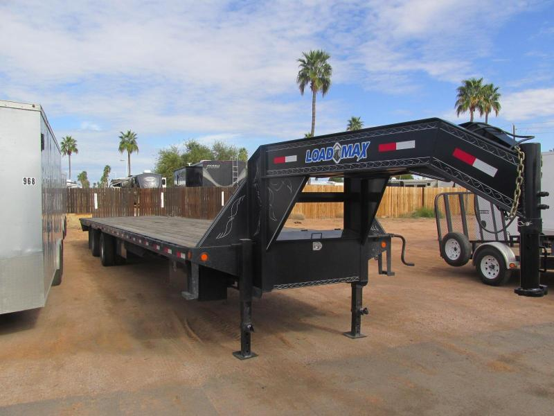 Used 2015 Load Trail GH24 Equipment Trailer
