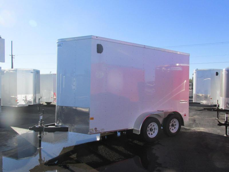 2017 Haulmark 6X' 12' Enclosed Cargo Trailer w/ Extra Height