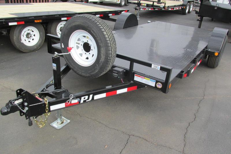 INVENTORY REDUCTION SALE! PJ 15' Car Hauler Trailer!
