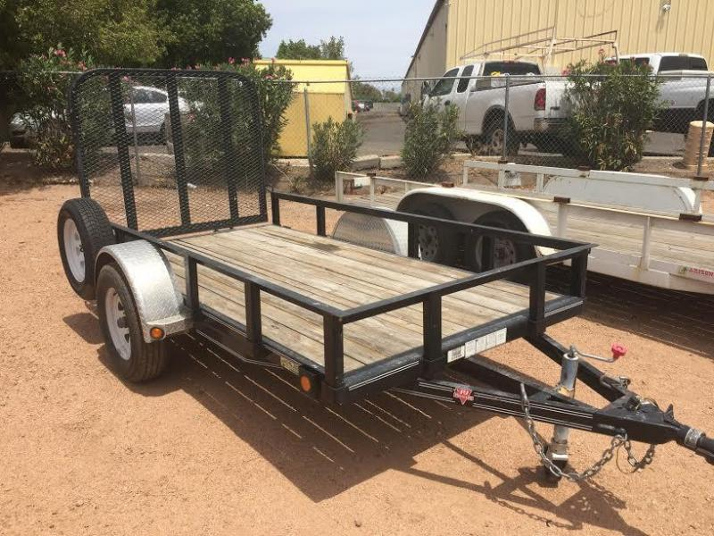 Excellent Condition Used 2009 10'x5' PJ Trailer Utility Trailer