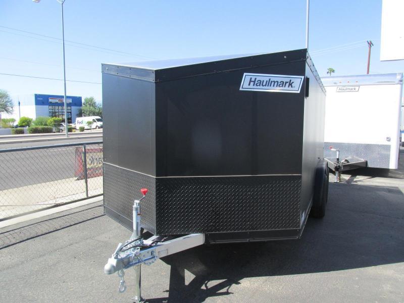 2018 Haulmark Aluminum Motorcycle Trailer Enclosed Cargo Trailer 7.5 x 14