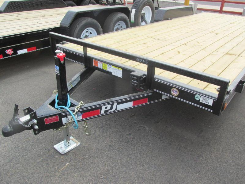 2018 PJ Trailers ce 5 Channel Equipment Equipment Trailer