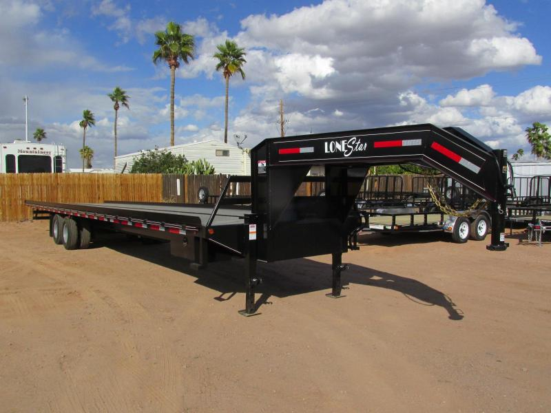 2018 Lonestar 102X40 TILT Flatbed Trailer