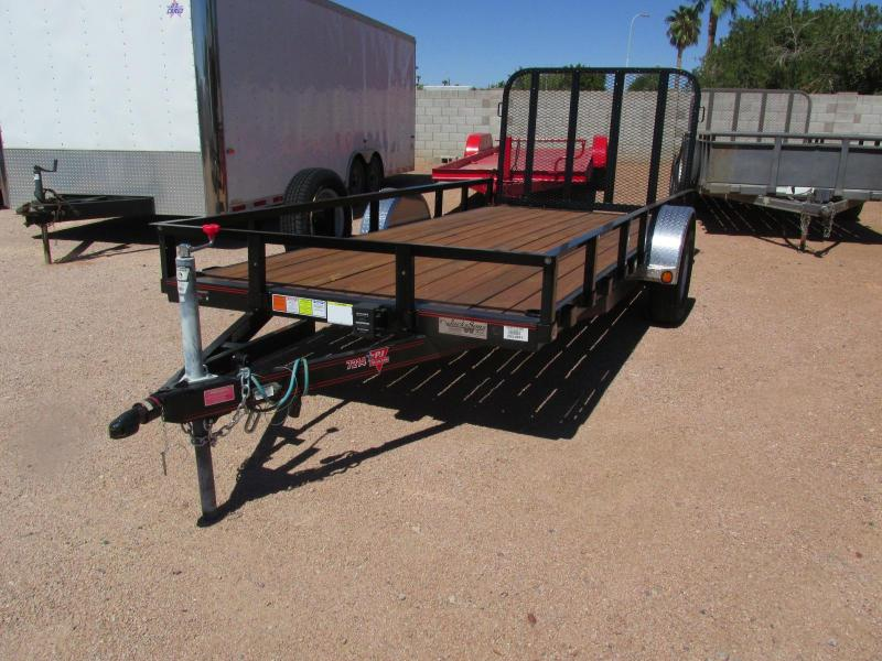 USED PJ Utility Trailer 72