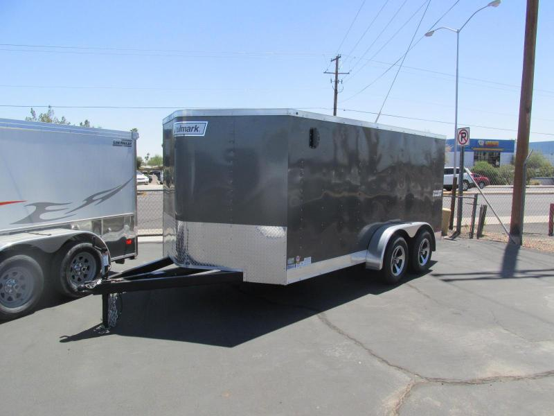2017 Haulmark 7'X 14' Low Height Motorcycle Trailer