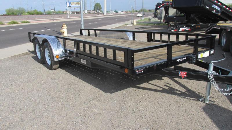 2017 PJ Trailers Flat bed Utility Trailer