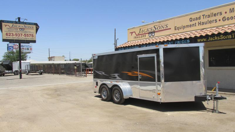 Managers Special  2015 Haulmark V Nose LowHauler Motorcycle Trailer