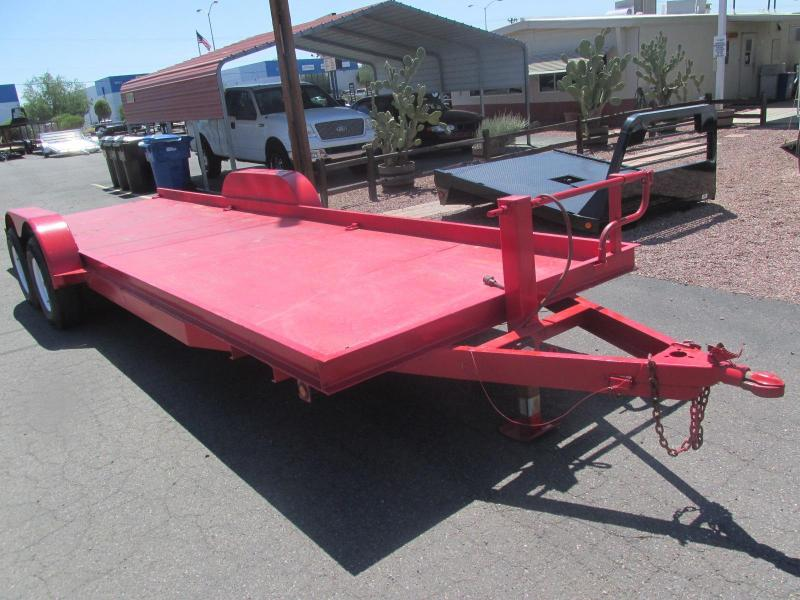 73 1/2 x 24' Miller 2x7000 Equipment Trailer USED