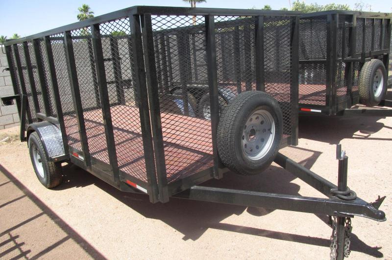 5.5x12' Landscaping Trailer 4
