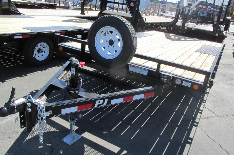 PJ Trailer 16' Light Duty Deckover 5