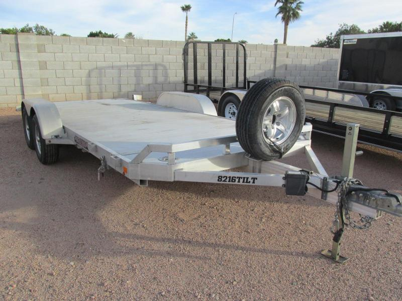 2015 Aluma 82x16 Car / Racing Trailer