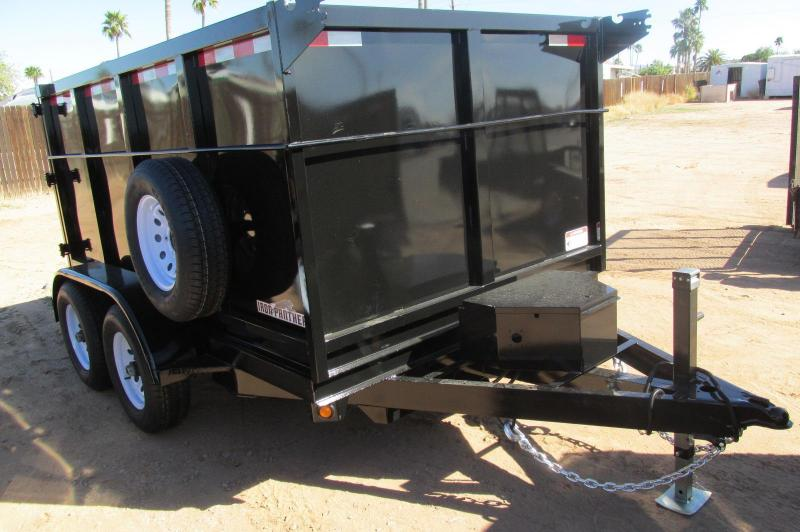2016 Iron Panther 6.5x10 D10 Dump Trailer w/ 4' Sides
