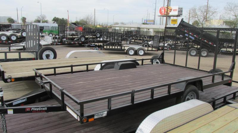 2017 Playcraft 14 X 78 Fenders In Utility Trailer PLC0089