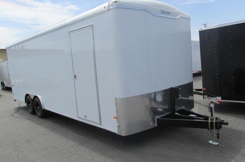 Haulmark Transport 85X24 2x5200 Racing Trailer Bonded SIdes