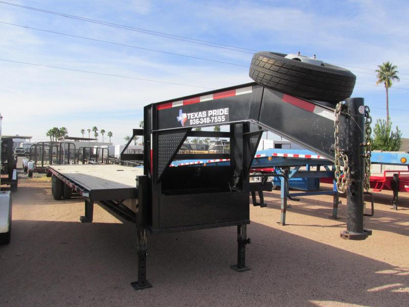 2015 Texas Pride Trailers 102X35 Equipment Trailer