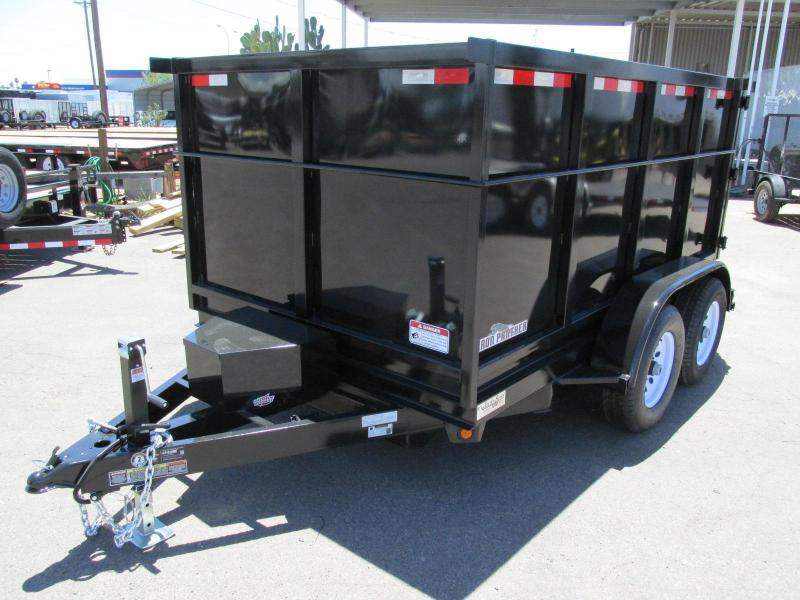 6.5x10 Iron Panther D10 Dump Trailer FOR SALE IP0015