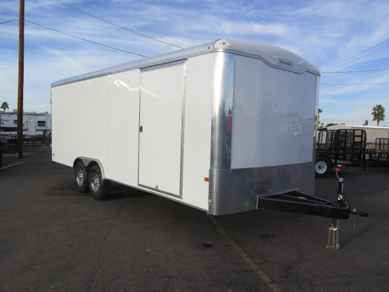 SOLD! But More on Order! OFF ROAD SPECIFICATIONS! 2017 22'x8.5' Haulmark Transport Enclosed Cargo Trailer