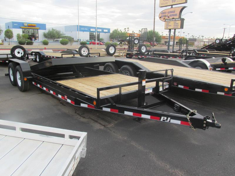 Brand New! 2018 PJ 22' T6 Equipment Trailer