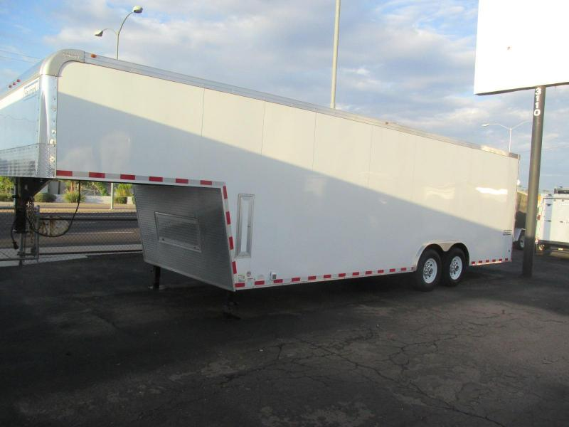 Brand New! 2017 Haulmark 32' Gooseneck Car / Racing Trailer