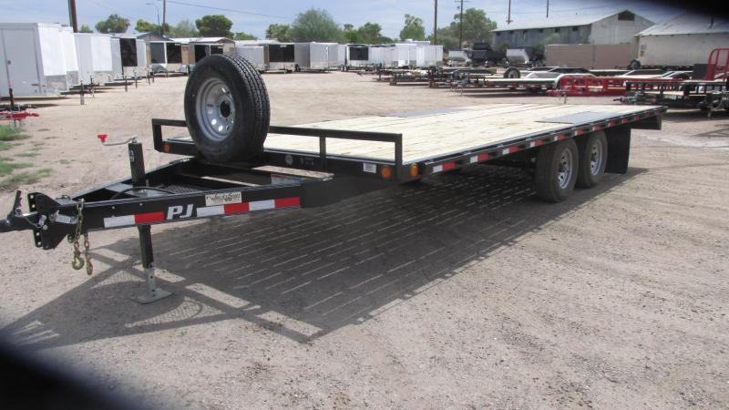 2017 PJ Trailers Med.Duty Deckover Equipment Trailer