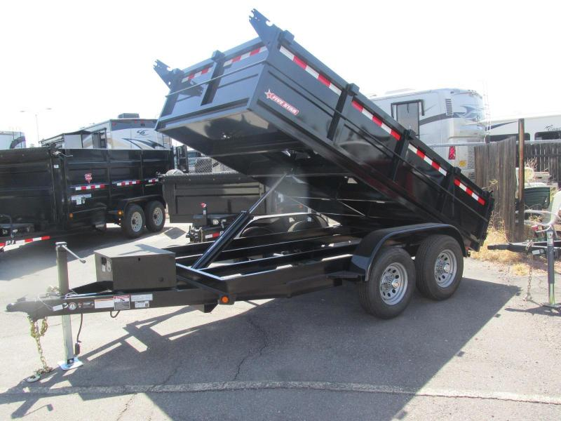 Just Arrived!!! 2017 Five Star 6.5'x 12' DT261 Dump Trailer