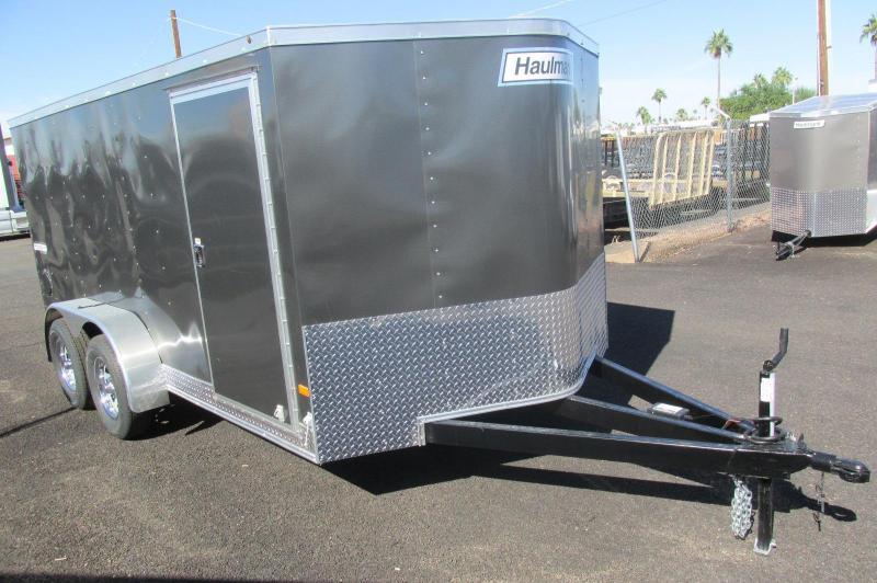 Haulmark 7X14 Enclosed Cargo Trailer Motorcycle Package
