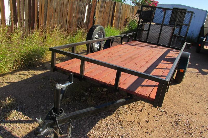 5.5x14' Utility Trailer Extra Stong Tube Steel / RV Gate Ready