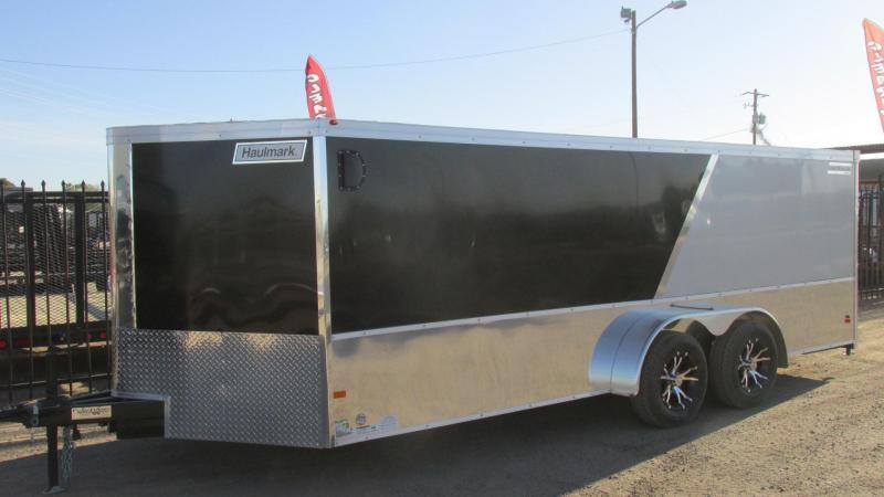 2016 Haulmark 18 X 7 VNLH Enclosed Motorcycle Trailer
