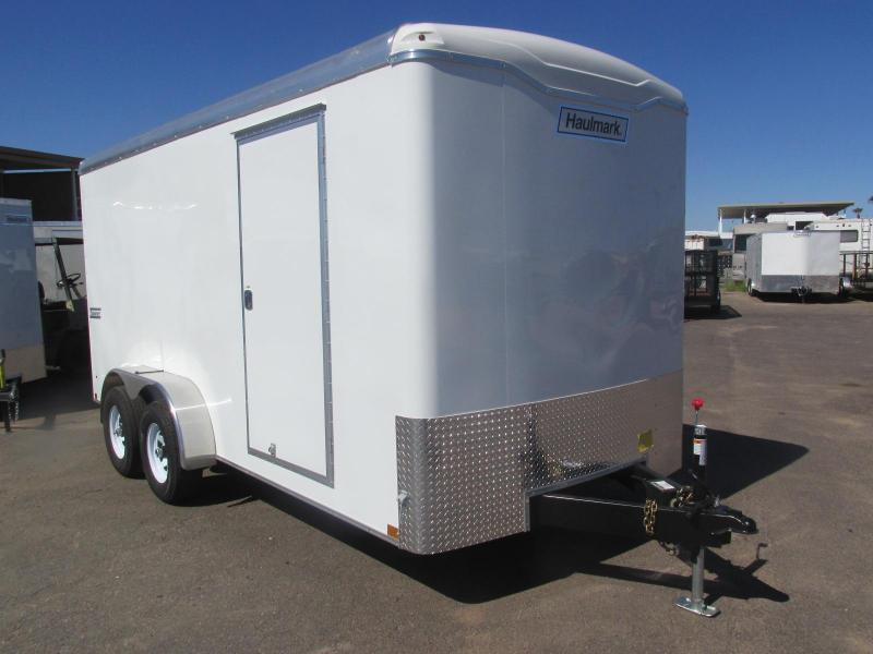 7x16 Durable Haulmark Transport Enclosed Cargo Trailer