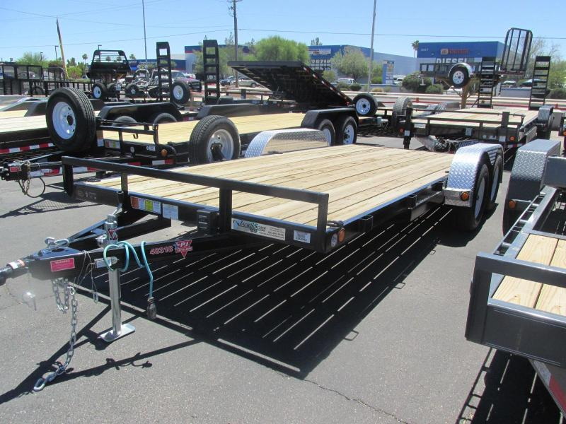 LEFTOVER 2016 PJ Trailers 18' C4182 Car / Racing Trailer
