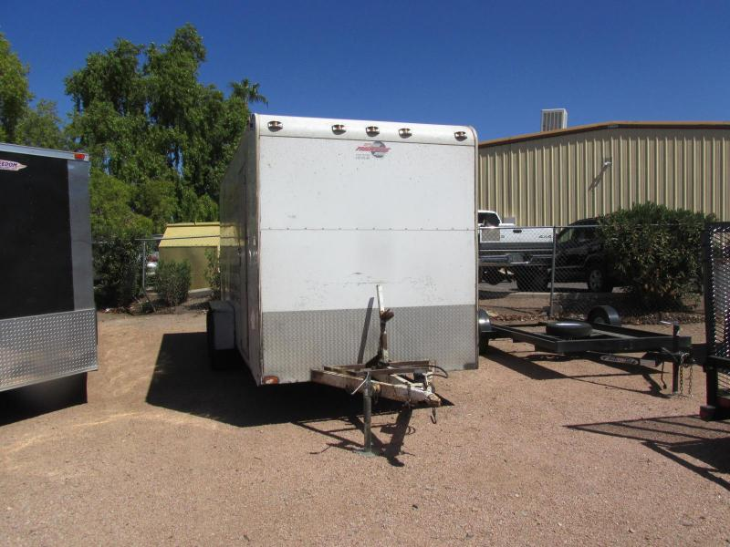 7'x16' Progressive 2005 ps2102201 Enclosed Cargo Trailer