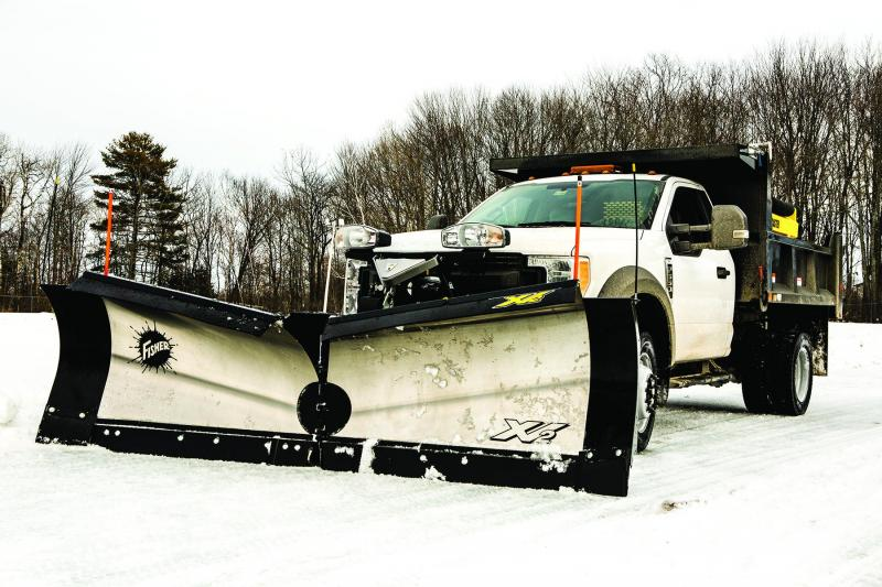 Fisher 8 6 Xv2 Ss Snow Plow Wagner Truck Equipment Snowplows