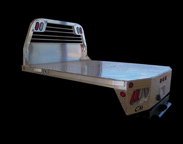 CM RD Aluminum Flatbed CHEVY/DODGE SRW 8' Pickup Replacement