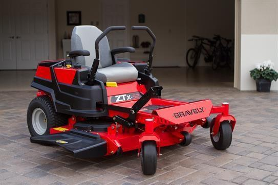 Gravely ZT X 52 Mower