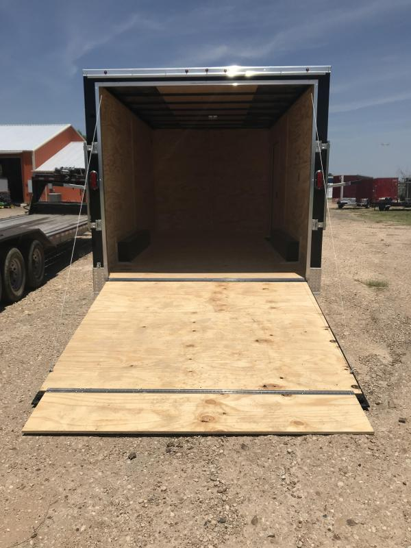 2019 Salvation Trailers 8.5x16 Enclosed Cargo Trailer