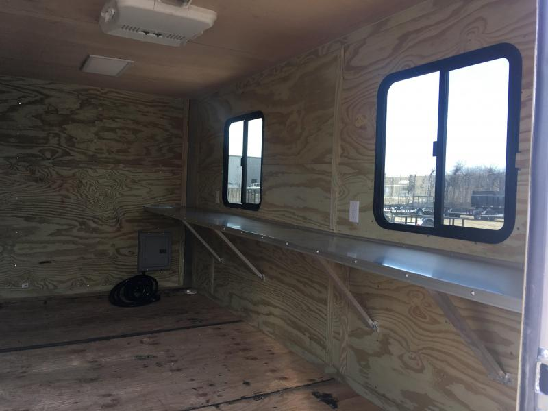 2019 Salvation 7X14TA Office Trailer