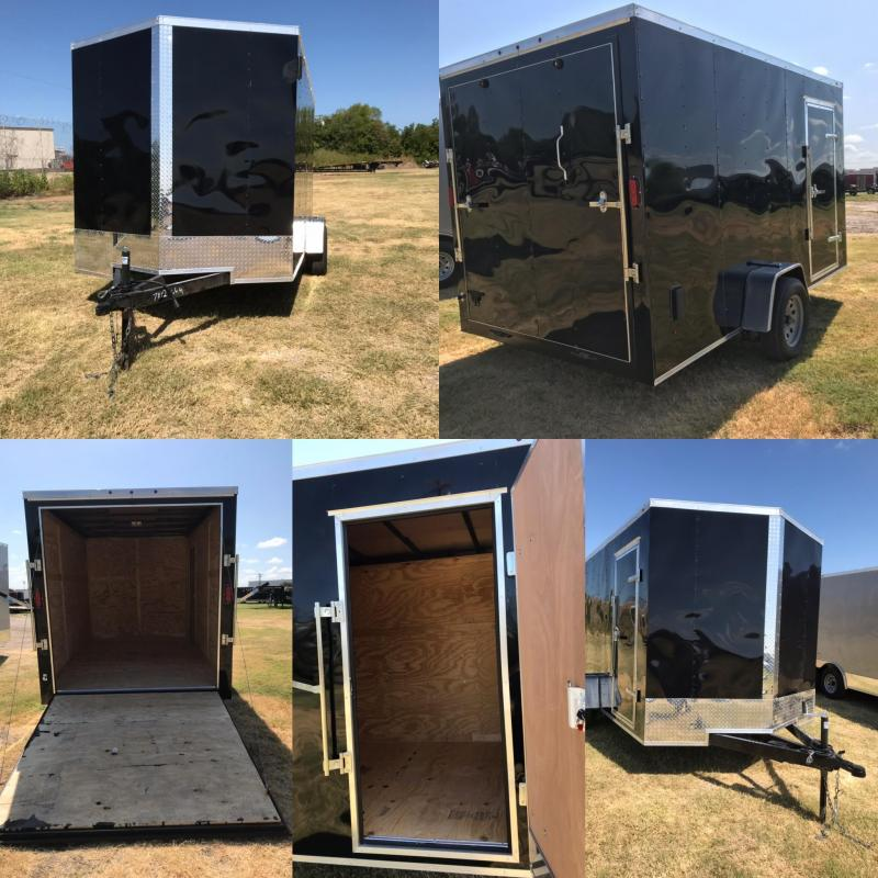 2019 Salvation 7x12 Enclosed Cargo Trailer