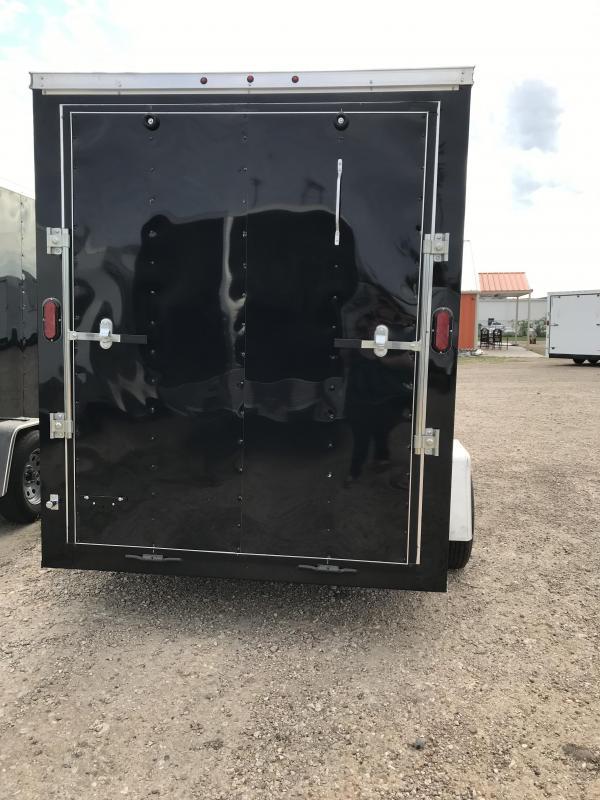 2019 Salvation 6x10 Enclosed Cargo Trailer